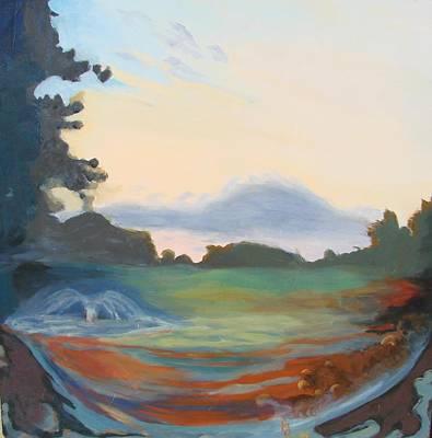 Painting - Hidden Landscape by Carol Oufnac Mahan