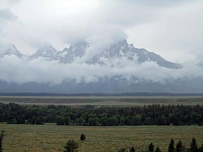 Grand Teton Photograph - Hidden Peaks by Mike Podhorzer