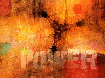 Artistic Mixed Media - Hidden Power Artwork by Lutz Baar