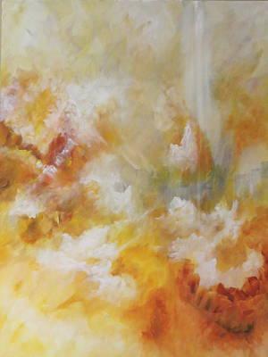 Orange Painting - Hidden  by Soraya Silvestri