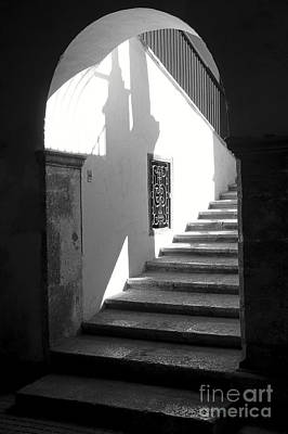 Photograph - Hidden Stairway Mexico by John  Mitchell