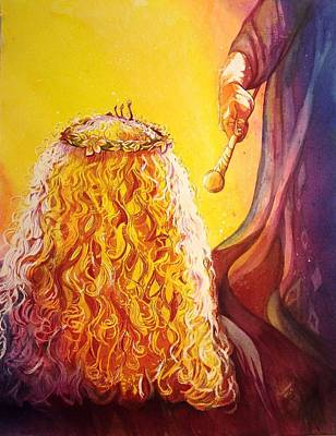 Purim Painting - Hidden by Starr Weems