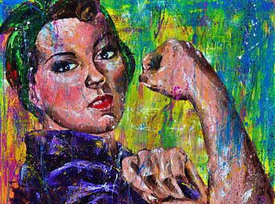 Hidden Strength Print by Connie Mobley Medina
