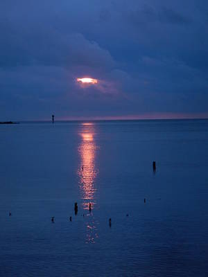 Photograph - Hidden Sunrise by Susan Sidorski