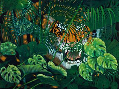 Hidden Tiger Original by Ken Church