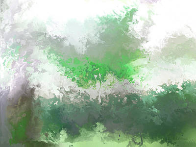 Painting - hidden valley III by John WR Emmett