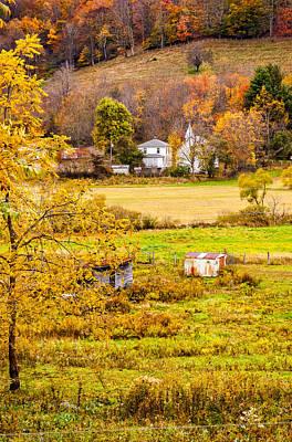 Autumn Photograph - Hidden Village by Steve Harrington