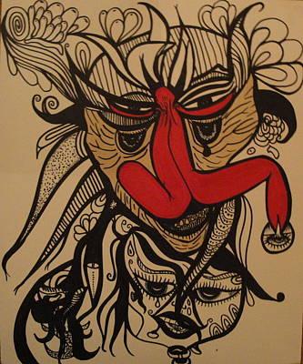 Hidden Visions Art Print by Glenn Poppler