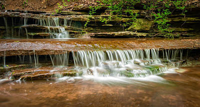 Photograph - Hidden Waterfall by Jen Morrison