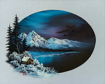 Steele Painting - Jack Frost Moon  by Chris Steele