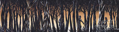 Painting - Hide And Seek by Kenneth Clarke
