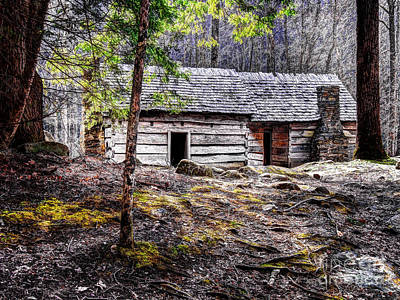 Photograph - Hideaway Cabin by Ken Johnson