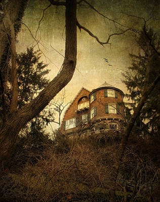 Hauntings Digital Art - Hideaway by Jessica Jenney