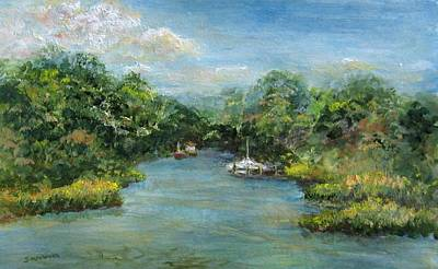 Painting - Hideaway by Laurie Samara-Schlageter