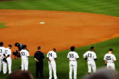 New York Yankees Photograph - Hideki Matsui Leads A Championship Lineup by Aurelio Zucco