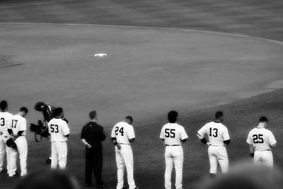 Yankees Photograph - Hideki Matsui Leads A Winning Lineup  by Aurelio Zucco