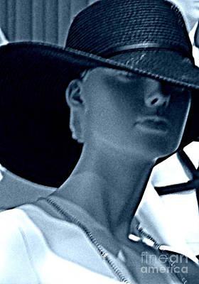 Hiding Under Hats? Art Print