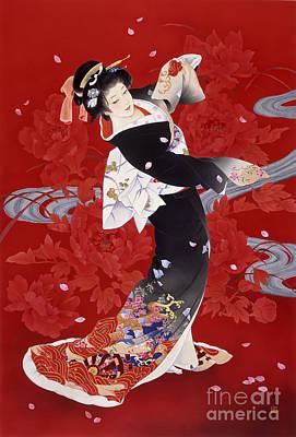 Traditional Culture Digital Art - Hien by Haruyo Morita