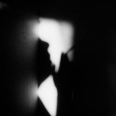 Abstract Lights Photograph - Hieroglyph Of Loneliness by Lilianna Hakhverdyan