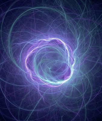 Higgs Field Art Print
