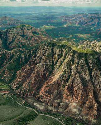 Photograph - High Above Sedona by Alan Marlowe