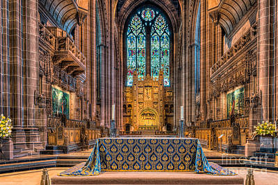 Altar Art Photograph - High Altar by Adrian Evans