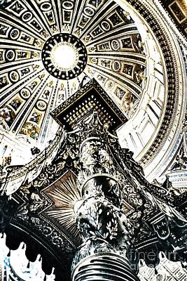 High Altar And Dome Art Print by Kim Lessel