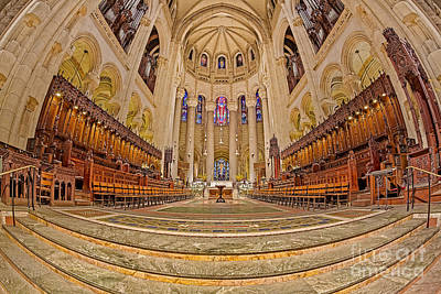 Photograph - High Altar At Saint John The Divine Cathedral  by Susan Candelario