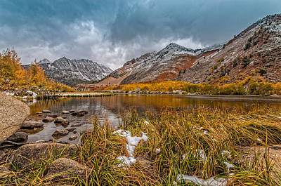 Photograph - High Altitude Lake by James Hammond