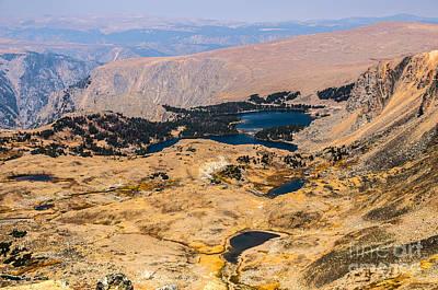 Photograph - High Altitude Lakes by Sue Smith