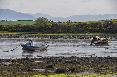 Ireland Photograph - High And Dry At Low Tide On Irelands West Coast by Bill Cannon
