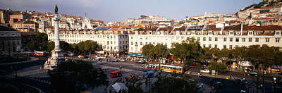 High Angle View Of A City, Lisbon Art Print by Panoramic Images