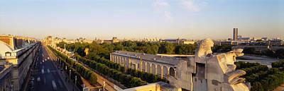 High Angle View Of A City, Royal Art Print