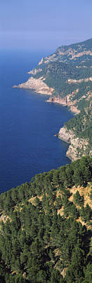Mallorca Photograph - High Angle View Of A Coastline, Mirador by Panoramic Images