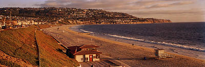 Los Angeles County Photograph - High Angle View Of A Coastline, Redondo by Panoramic Images