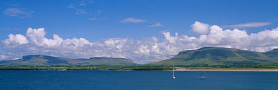 Donegal Photograph - High Angle View Of A Sailboat, Donegal by Panoramic Images