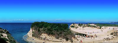 Corfu Photograph - High Angle View Of An Island, Corfu by Panoramic Images
