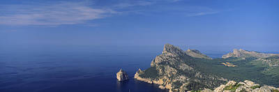 Mallorca Photograph - High Angle View Of An Island by Panoramic Images