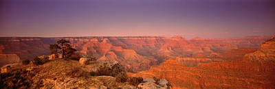 Grand Canyon Photograph - High Angle View Of Mountains, Grand by Panoramic Images