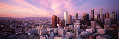 Romantic Location Photograph - High Angle View Of The City, Los by Panoramic Images