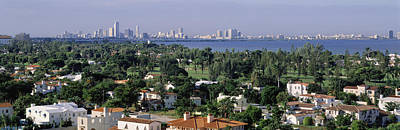 Rooftop Photograph - High Angle View Of The City, Miami by Panoramic Images