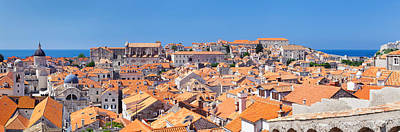Rooftop Photograph - High Angle View Of The Old Town by Panoramic Images
