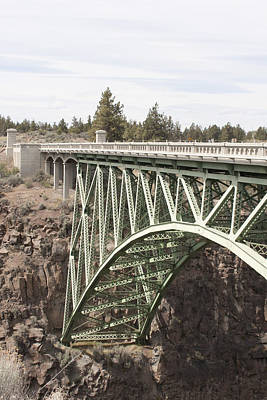 Photograph - High Bridge-crooked River Gorge - 0006 by S and S Photo