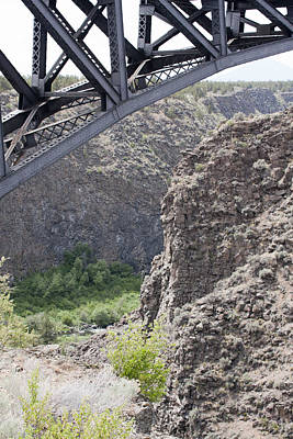 Photograph - High Bridge-crooked River Ranch - 0001 by S and S Photo