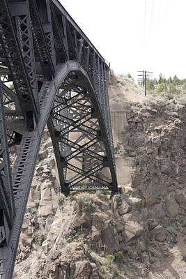 Photograph - High Bridge-crooked River Ranch - 0003 by S and S Photo