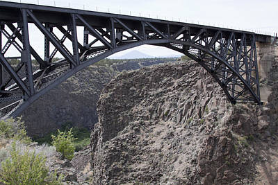 Photograph - High Bridge-crooked River Ranch - 0004 by S and S Photo