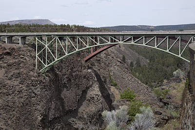 Photograph - High Bridge-crooked River Ranch - 0005 by S and S Photo