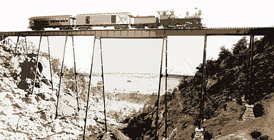 High Bridge Near Buena Vista, Jackson, William Henry Art Print by Litz Collection