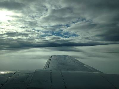 Aerial Photograph - High Clouds Over Tennessee by Phillip Israel