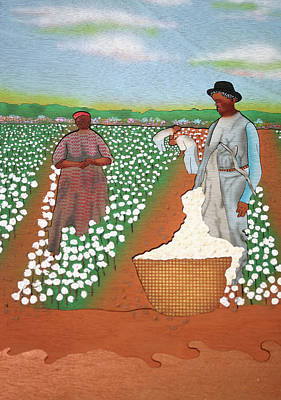 High Cotton Art Print by Fred Gardner